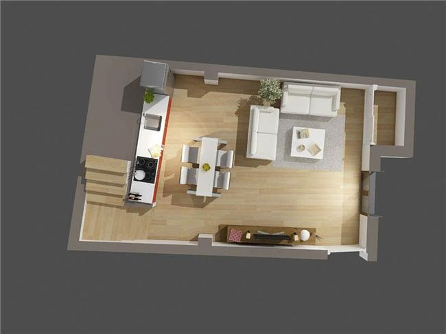 Lower floor - 67m Duplex - Casa Al Misbah