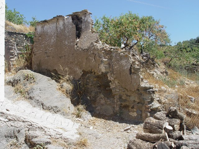 Sideview of Ruin