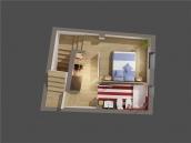 Upper floor - 67m Duplex - Casa Al Misbah