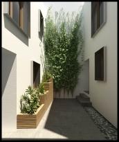 The courtyard - Casa Al Misbah