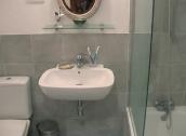 Modernised bathroom