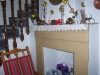 Rustic Feature Fireplace