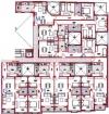 floor plans for apartments g, h, i, j, k, l & m