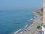 Sweeping Adra Beach